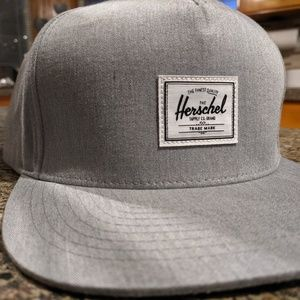 Brand New Herschel Grey Hat / Cap